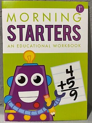 NEW First Grade (1st) Morning Starters Educational/Learning Workbook