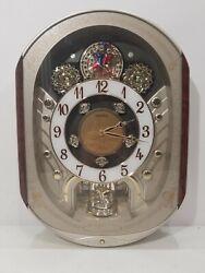 Seiko Melodies in Motion 2007 Clock Swarovski Crystals Beatles Xmas ++ 14 Songs!