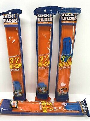 Hot Wheels Track Builder Lot Of 4