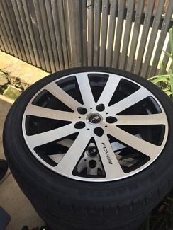 """Pdw alloys 18"""" by 4  Queanbeyan Queanbeyan Area Preview"""