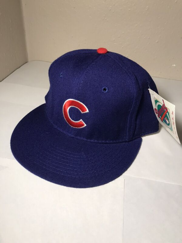 Vintage Chicago Cubs New Era hat. 7 1/8. NWT. Diamond Collection. 80s MLB.