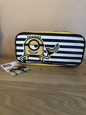 NEW DESPICABLE ME 3 PENCIL CASE / MAKE-UP STORAGE CASE BNWT