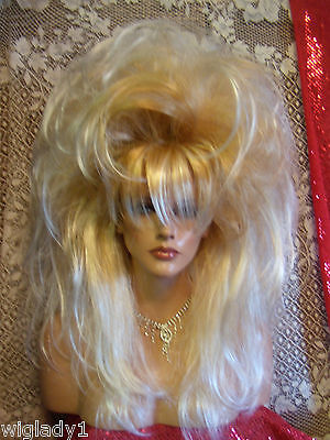 WIGS TO BE WILD IN FOR HALLOWEEN VEGAS GIRL WIGS PICK A COLOR SPIKEY BIG & FULL