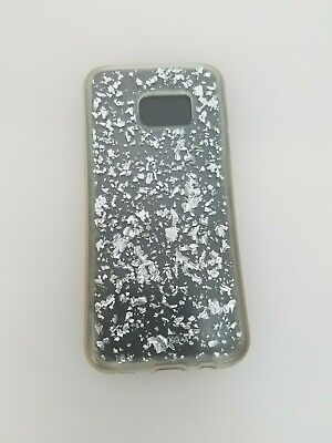 Luxury Bling Glitter Crystal Black Plastic Case Cover For Samsung Galaxy S7 Edge](Plastic Bling)
