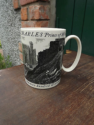 1969 Prince of Wales Investiture Wedgwood Carl Toms designed tankard