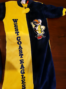 West coast eagles sleeping bag size 0 Scarborough Stirling Area Preview