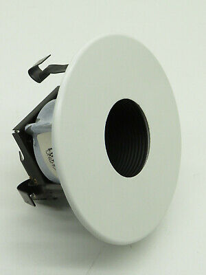 Capri Lc101 Recessed Can Pinhole Black Baffle White Lighting Trim