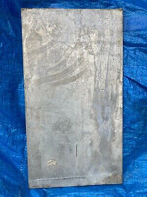 14 .250 Hot Dip Galvanized Steel Sheet Plate 10 X 18 New Condition