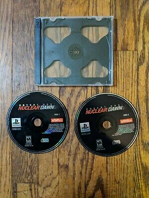 Covert Ops: Nuclear Dawn (Sony PlayStation 1, 2000) Discs Only Tested Ps1 PSX Sony Covert