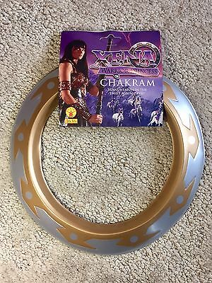 Xena Warrior Princess Warrior Chakram 1997 Vintage Toy NEW & Rare