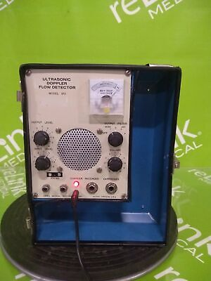Parks Medical Electronics Model 812 Ultrasonic Doppler Flow Detector