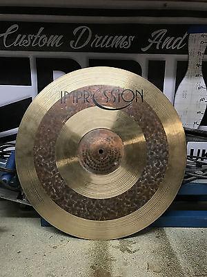 "Impression 20"" Mixed Thin Ride (Crash/Ride) Cymbals Turkish"