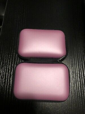 Finger Pulse Oximeter Storage Case Rate Monitor Zipper Cover Bag Pouch Pink