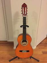 Valencia 1/2 Size Classical Guitar & Stand Burpengary Caboolture Area Preview