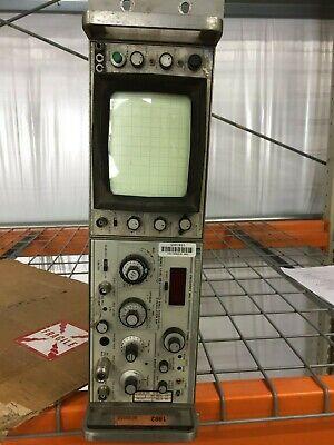 Hewlett-packard 8558b Spectrum Analyzer And 180a Oscilloscope