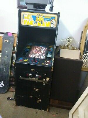 VINTAGE 1980/ 1981 MIDWAY BALLY CO MS PAC- MAN GAME MACHINE FULL SIZE for sale  Port Richey