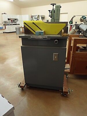 Rockwelll Uniplane Woodworking Jointer