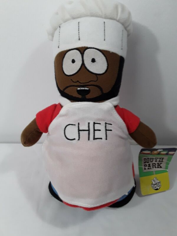 "South Park 10"" Chef Plush Toy Doll 2009 Nanco Comedy Central w/tags"
