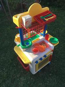 Kids' kitchen toy set, including accessories Mount Annan Camden Area Preview