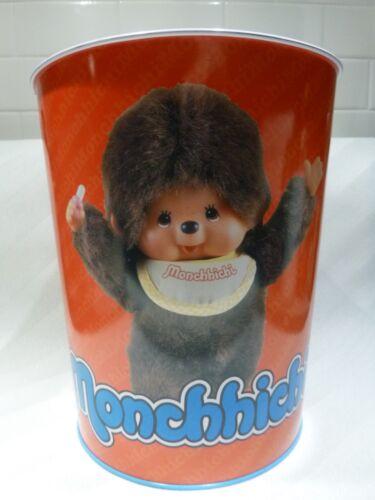RARE Monchhichi Large Tin Can Sekiguchi