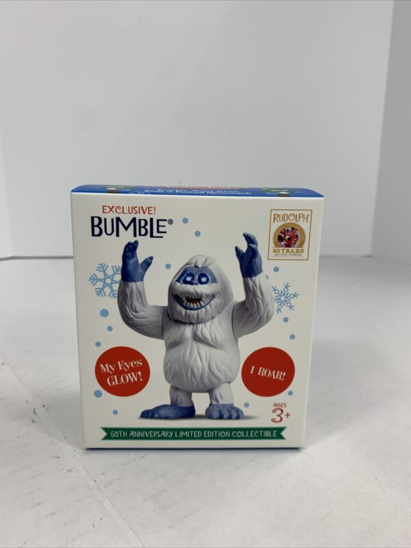 Bumble Christmas Ornament Rudolph 50 Anniversary Limited Edition Collectible