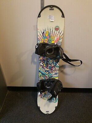 Rossignol Snowboard With Bindings Rossignol No Size 120cm