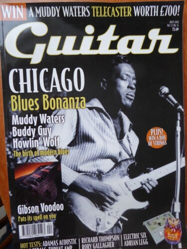 Guitar Magazine - April, 2003
