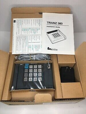 Verifone Tranz 380 16-button Magnetic Credit Cardterminal