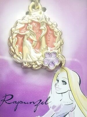 NEW DISNEY Princess pendant glitter cute Kawaii Bandai Japan Rapunzel Official