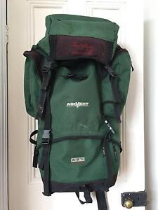 Joe Murphy Discovery Green 65L Hiking Camping Backpack Rucksack Richmond Yarra Area Preview