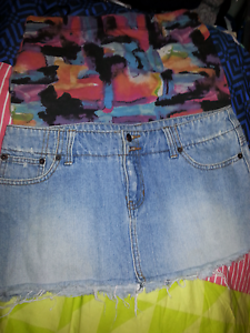 2 x skirts one denim women's skirt + supre size small skirt Brisbane City Brisbane North West Preview