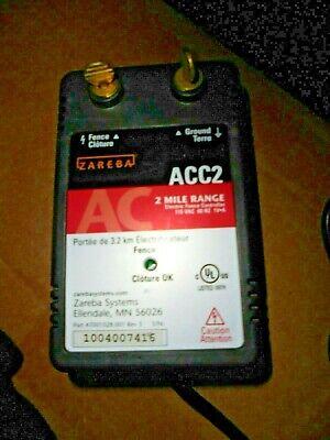 Acc2 Electric Fence Controller 2 Mile Range  Zareba Model 115v04j-2