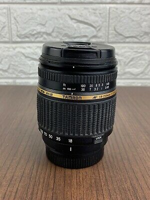 Tamron AF 18-250mm f/3.5-6.3 IF Macro A18 LD Di II For Pentax KAF Excellent