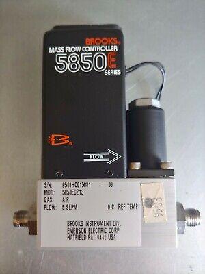 Brooks 5850e Mass Flow Controller Air 5 Slpm