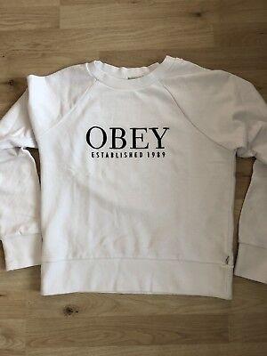 Obey Pullover Damen, gebraucht gebraucht kaufen  Versand nach Austria
