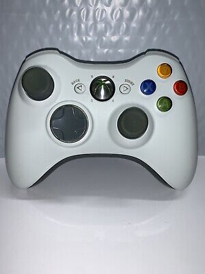 Official Original OEM White Microsoft Xbox 360 Wireless Controller Tested