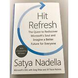 Hit Refresh by Satya Nadella, Greg Shaw and Jill Tracie Nichols NEW Hardcover