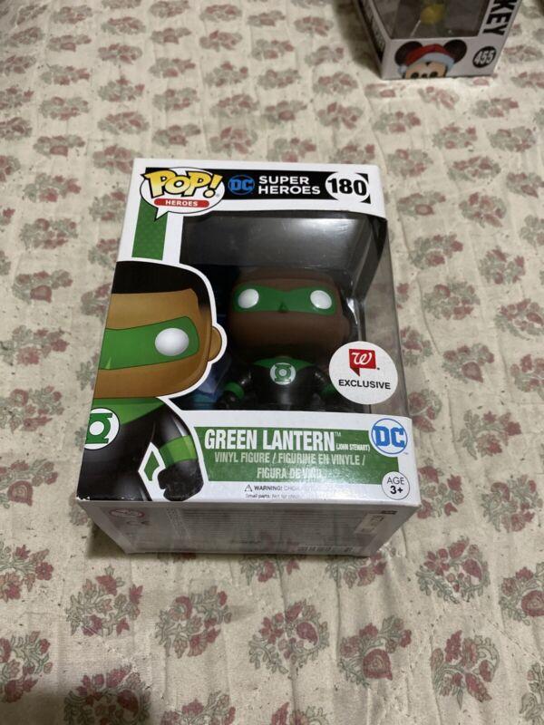 Funko Pop Dc Heroes Green Lantern #180 John Stewart Walgreens Exclusive