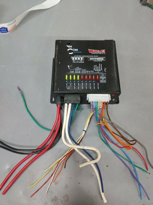Whelen Cencom Sapphire CPU With Cables