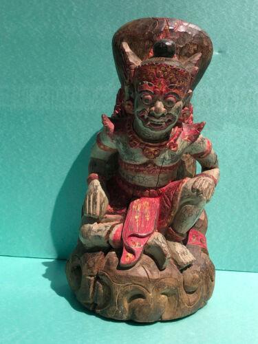 Antique Hand Carved Garuda Temple Guardian, Thailand