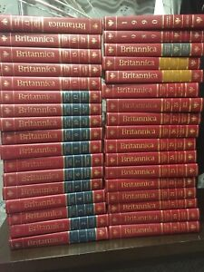 Britannica Encyclopedia Set (32 books + 2 Books of the year)