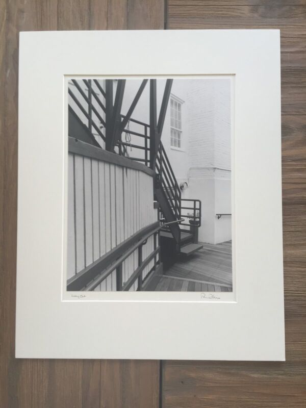 """BRUCE BLUM SIGNED B&W Photo Print (10 """"X 13"""") """"Looking Out  """""""