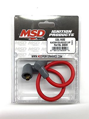 MSD 84049 Blaster Ignition Coil Wire-Socket Style-8.5mm 90° - Ignition Coil Wire