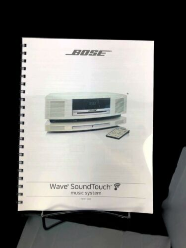 Bose Wave SoundTouch Music System Owners Manual User Guide Instructions