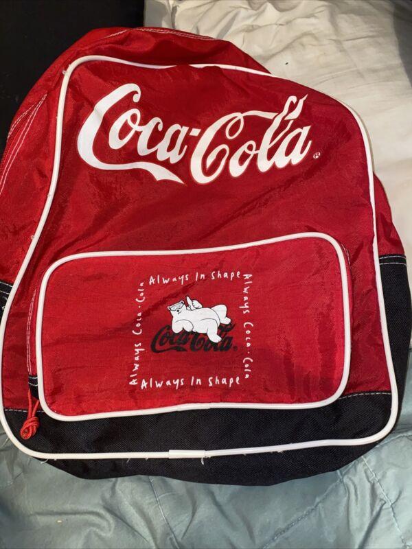Vintage 1997 Coca Cola Backpack
