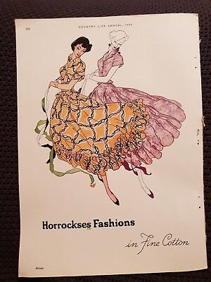 Horrockses Fashions in Fine Cotton - 1949 Advertisement