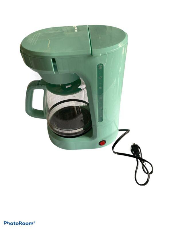 dash coffee maker Wint Green