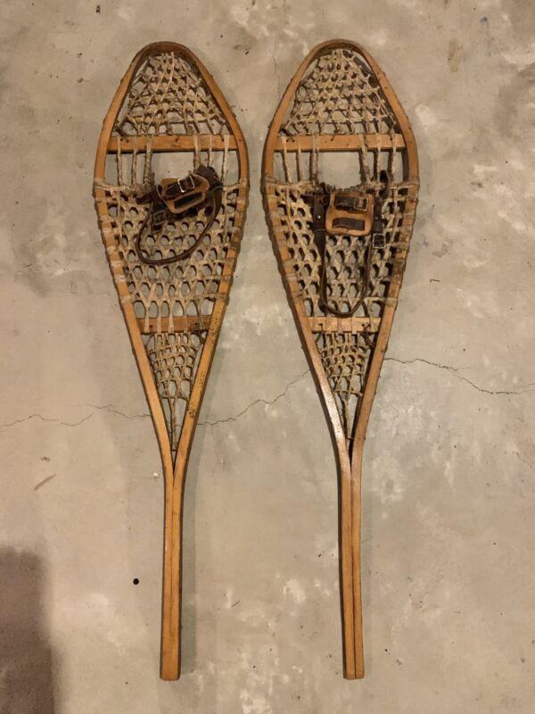 """Vintage Snowshoes (48 1/2"""" Long)"""