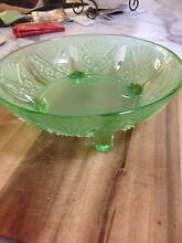 Glass fruit bowl Chain Valley Bay Wyong Area Preview