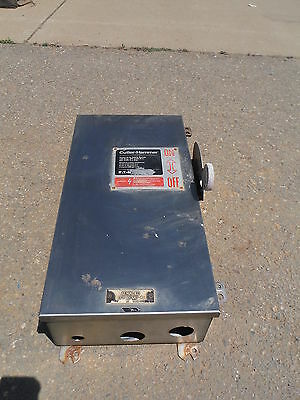 Cutler Hammer Heavy Duty Safety Switch 100amp 250v Dc 600v Ac